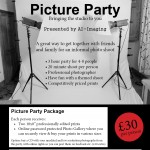 Printing picture party flyer A5 v42